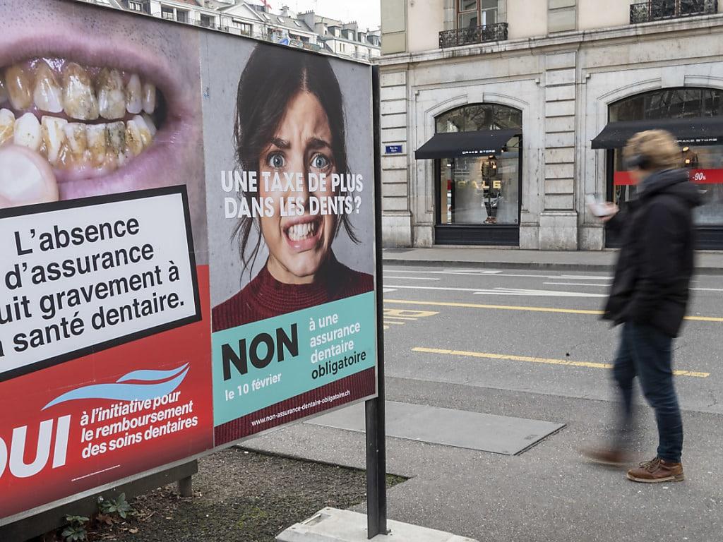 L initiative du Parti du Travail pour une assurance obligatoire pour les soins  dentaire de base a été refusée dimanche dans les urnes à Genève. 8054f418ddf8