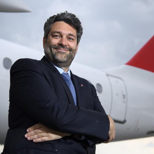 Lorenzo Stoll, directeur de Swiss pour la Suisse Romande