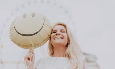 Femme heureuse bonheur