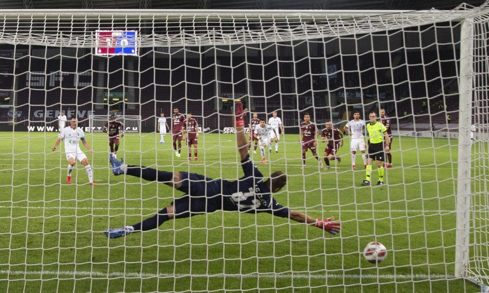 Servette offre deux points au Lausanne-Sport