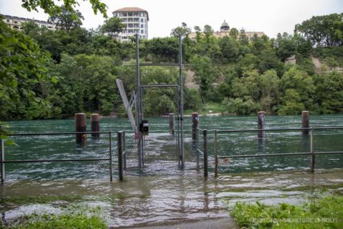inondation-rhone-geneve